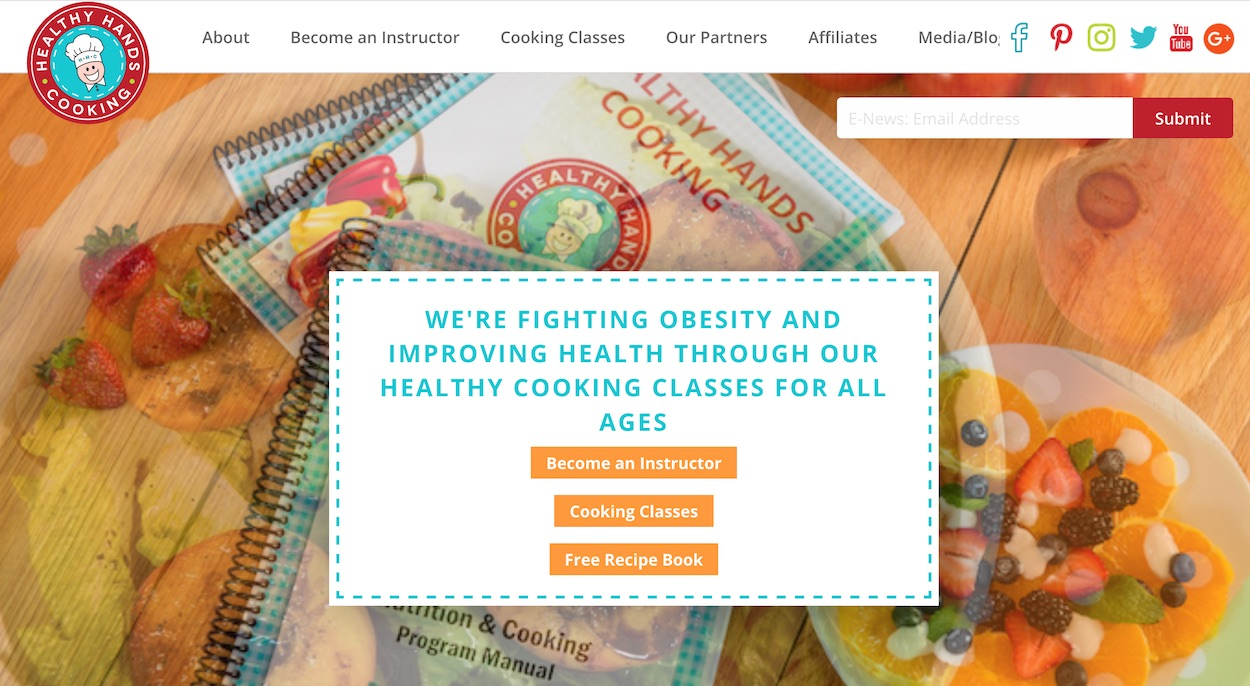 Platform that allows people to teach quality cooking classes that needed its own integrated payment portal.